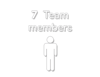 7 Team members