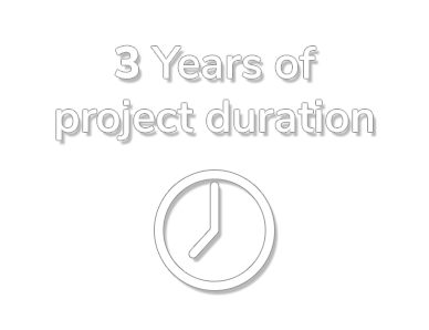 3 Years of project duration